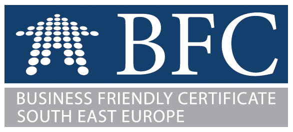BFC Business Friendly Certificate South East Europe