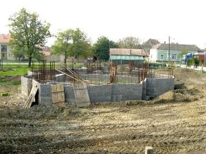 Црква у изградњи Јабука