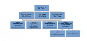 Организациона шема
