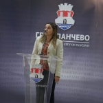 Jelena Batinic, clanica Gradskog veca, na promociji turistickog vodica