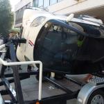 Dan posvecen bezbednosti saobracaja - simulator ispred Gradske uprave