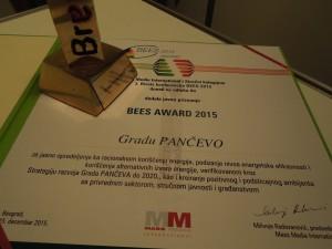 """priznanje BEES AWARD 2015"""""""