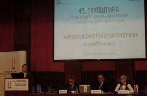potpredsednica vlade i ministarka kori udovicki na konferenciji