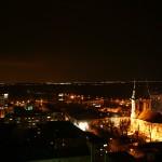 Панорама града ноћу