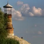 Светионици на ушћу Тамиша у Дунав