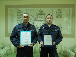 nagradjeni policajci za februar mesec
