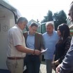 primopredaja novog sanitetskog vozila