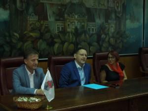 gradonacelnik, clan veca i koordinatorka za romska pitanja