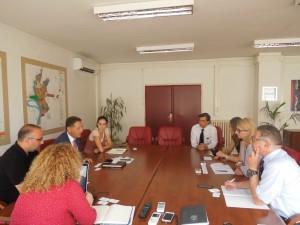 delegacija slovenije kod gradonacelnika panceva