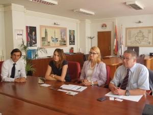 delegacija slovenije kod gradonacelnika sase pavlova