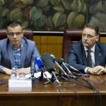 Ministar Nedimović i gradonačelnik Pavlov
