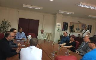 """Пријем код градоначелника за Кошаркашки клуб """"Динамо"""""""