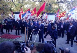 Николић и Иванов у посети Панчеву поводом обележавања 70 година од досељавања Македонаца
