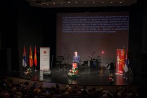 Томислав Николић у посети Панчеву поводом обележавања 70 година од досељавања Македонаца
