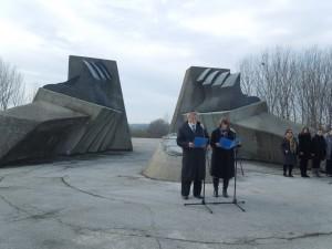 Комеморација за Јевреје страдалe у Другом светском рату
