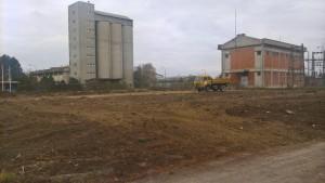 Припрема земљишта за поставку соларног система на топлани Котеж 2