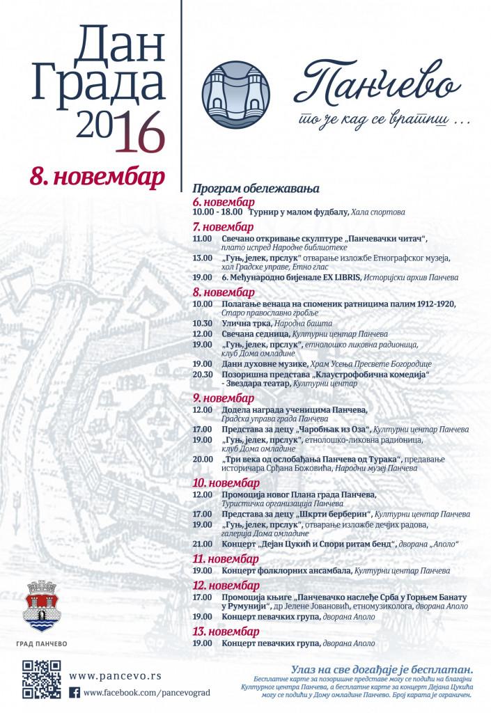 dan grada 2016 program