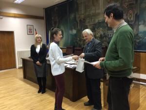 Уручивање награда талентованим ученицима Панчева