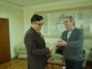 Пријем за панчевачког афористичара Зорана Т. Поповића