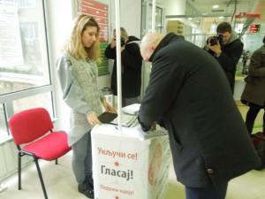 Glasanje - gradski uslužni centar