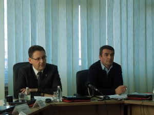 Саша Павлов и Игор Крежевић