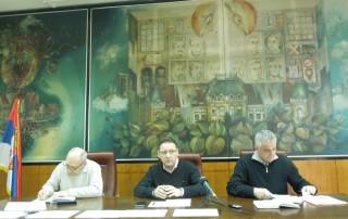 Sednica Gradskog štaba za vanredne situacije grada Pančeva