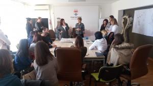 Одржавање презентације планске документације града Панчева студентима Архитеконског факултета - слика 1