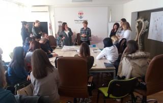 Održavanje prezentacije planske dokumentacije grada Pančeva studentima Arhitekonskog fakulteta - slika 1