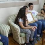 """Пријем за КУД """"Станко Пауновић"""" у Градској управи"""