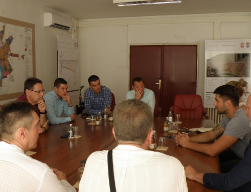 Ватерполиста Никола Рађен у посети Панчеву