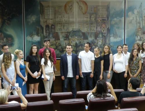 Награђени најбољи студенти града Панчева