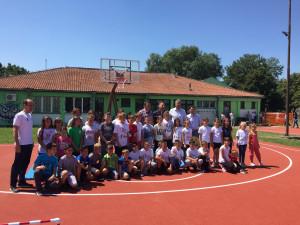 Покрајински секретар за спорт и омладину у Омољици