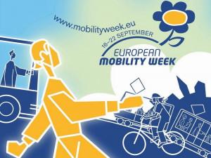 Плакат - Европска недеља мобилности