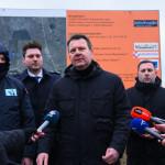 Мировић обишао радове на изградњи црпне станице и система за наводњавање у Јабуци