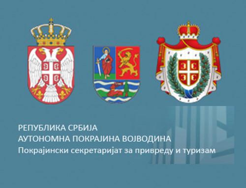 Јавни конкурс Покрајинског секретаријата за привреду и туризам а у вези са доделом бесповратних средстава привредним субјектима за суфинансирање пројеката од значаја за развој туристичког потенцијала АП Војводине у 2021. години