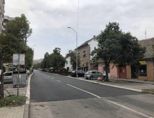 Завршетак радова у Димитрија Туцовића и наставак радова у насељима Стрелиште и Миса