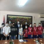 Градоначелник Стевановић организовао пријем за ученике који су освојили медаље на међународним такмичењима